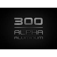 Alpha 300-as alumínium
